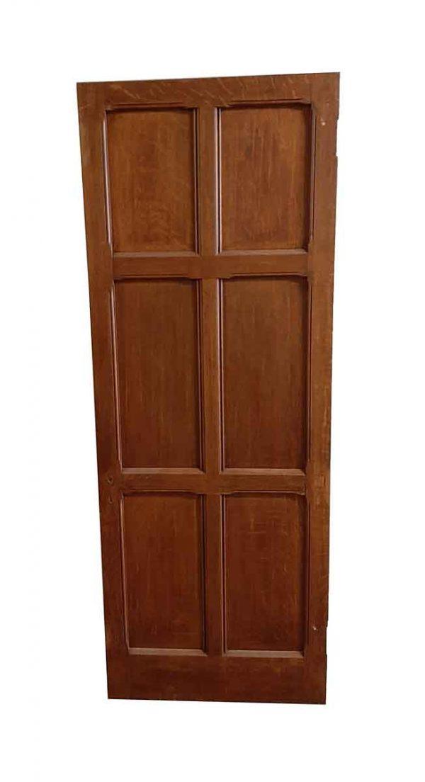 Standard Doors - Arts & Crafts 6 Pane Oak Passage Door 77.75 x 29.75