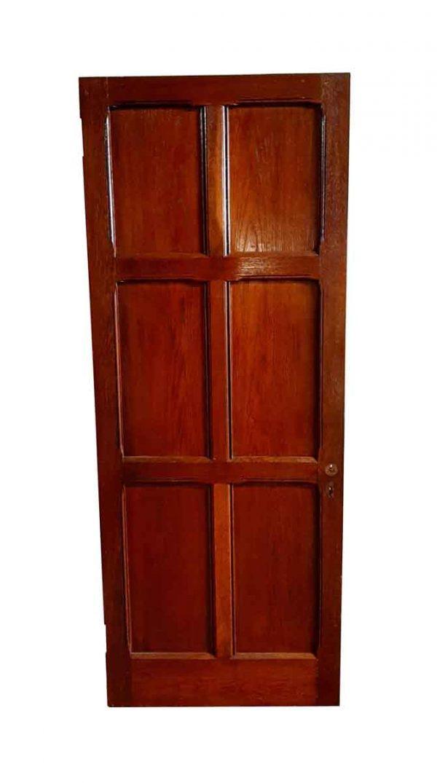 Standard Doors - Arts & Crafts 6 Pane Oak Passage Door 77.75 x 29.875