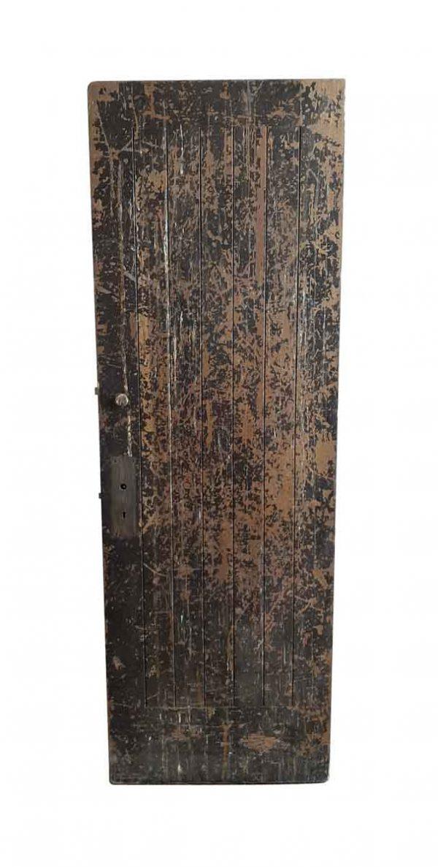 Standard Doors - Distressed Rustic Painted Barn Door 83 x 27.75