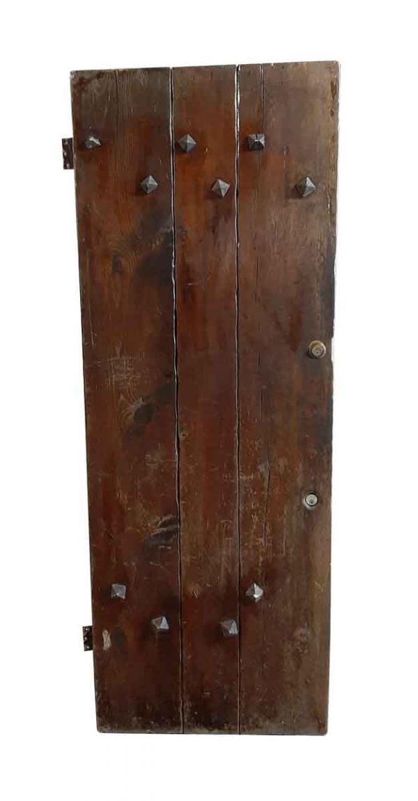 Standard Doors - Thick Rustic Studded Pine Barn Door 81.5 x 30