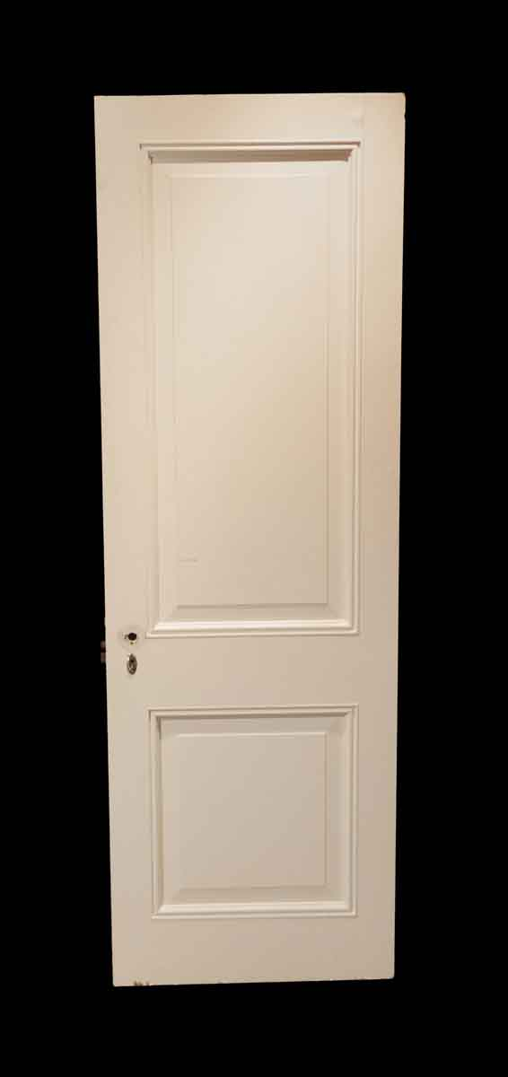 Standard Doors - Vintage 2 Pane White Wood Passage Door 83 x 28