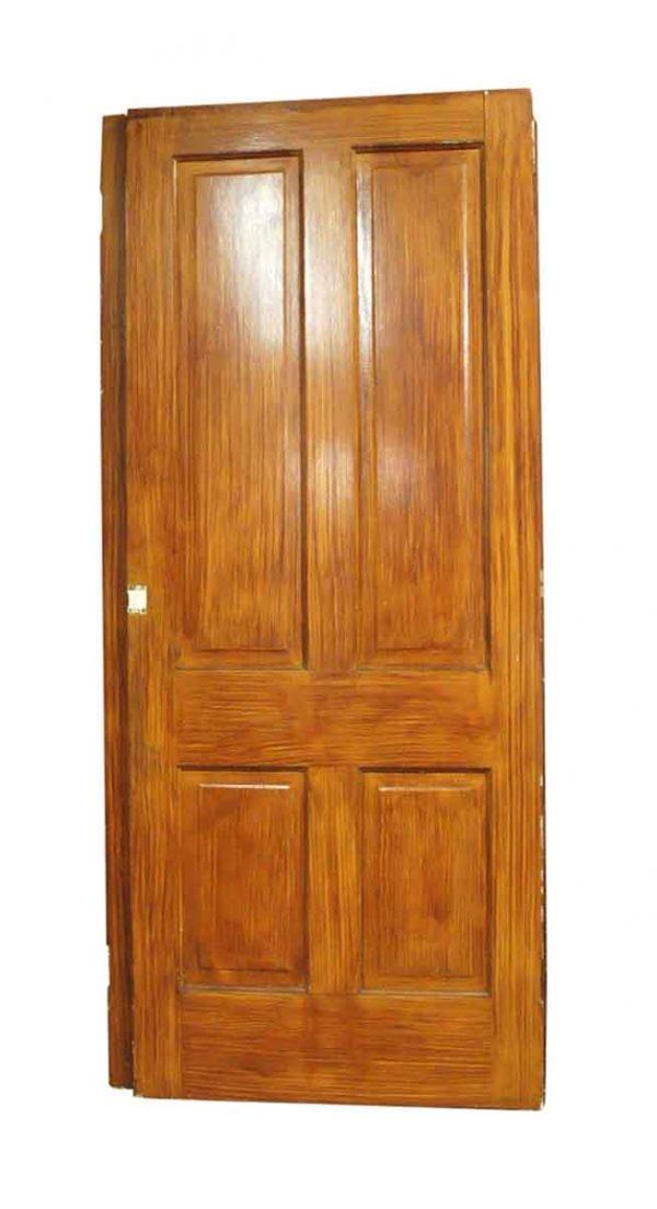 Standard Doors - Vintage 4 Pane Faux Wood Passage Door 83.25 x 33.25