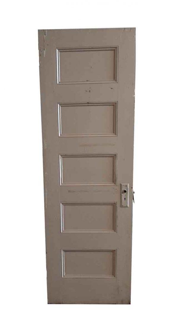 Standard Doors - Vintage 5 Pane Wood Passage Door 79.25 x 25.75