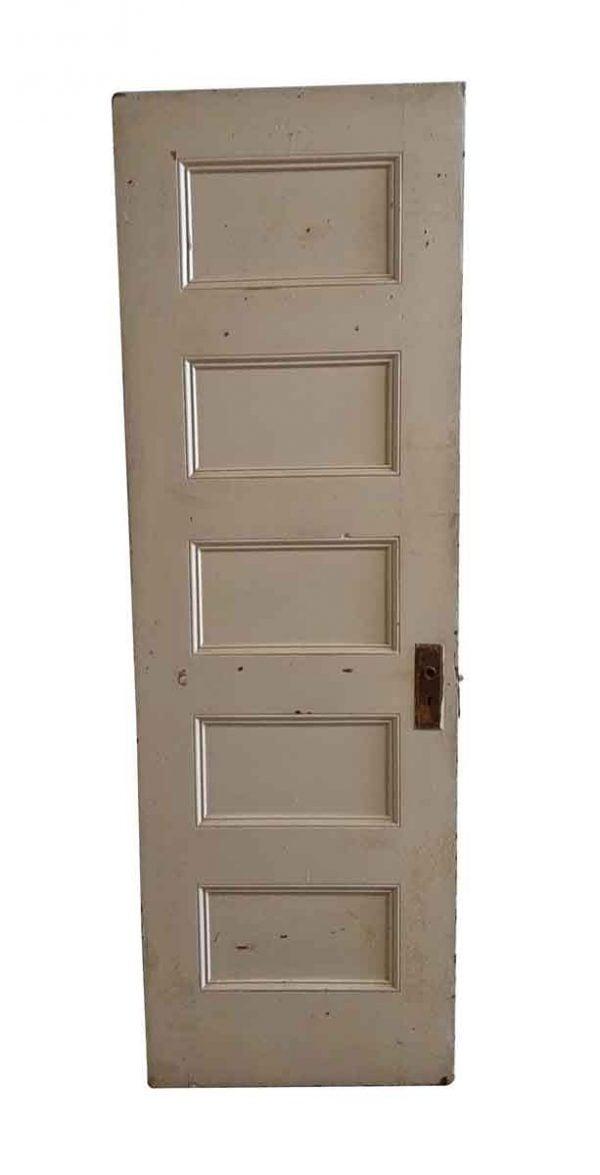Standard Doors - Vintage 5 Panel Wood Passage Door 79.5 x 26