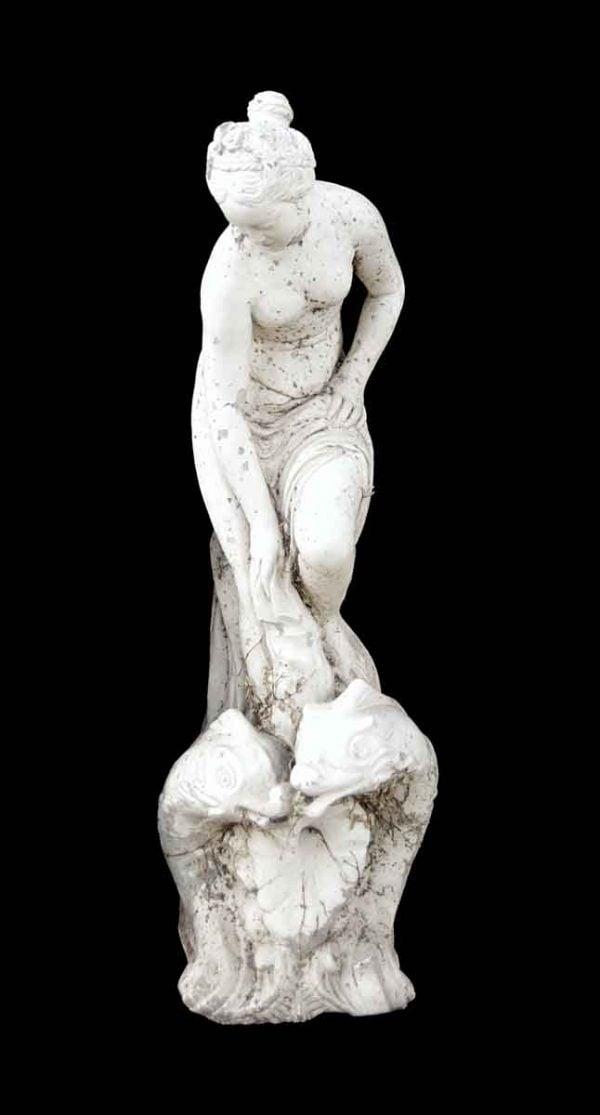 Statues & Fountains - Antique Bathing Amphitrite Statue