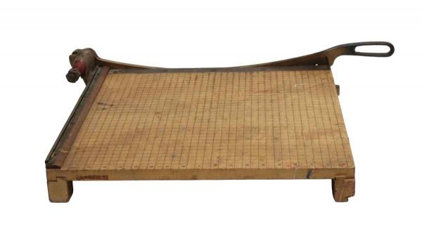 Tools - 1920s Wood & Steel Paper Cutter