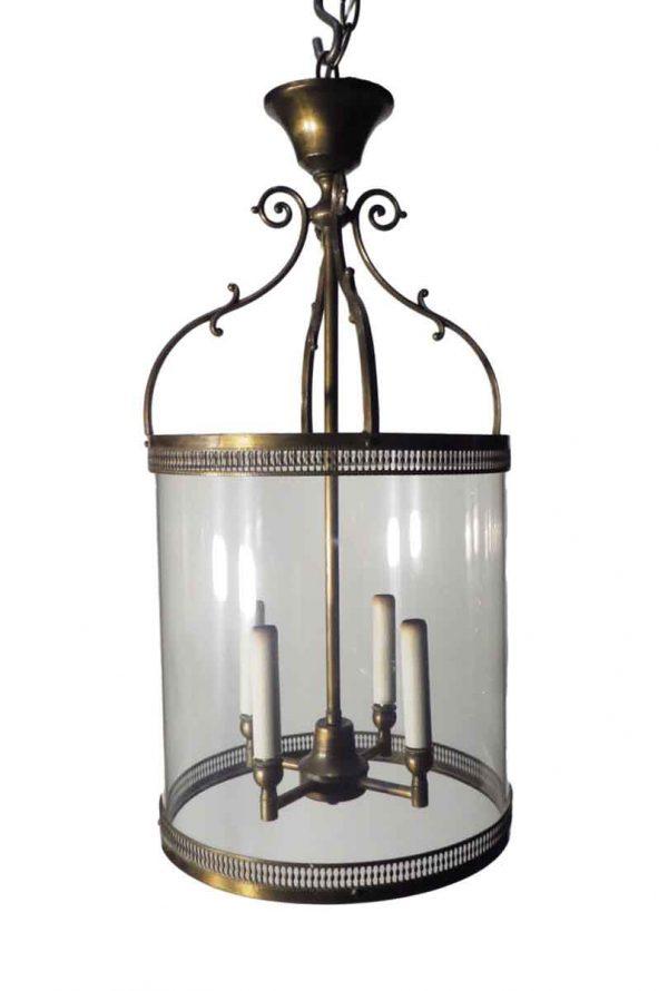 Wall & Ceiling Lanterns - Turn of the Century Foyer Cylinder Lantern
