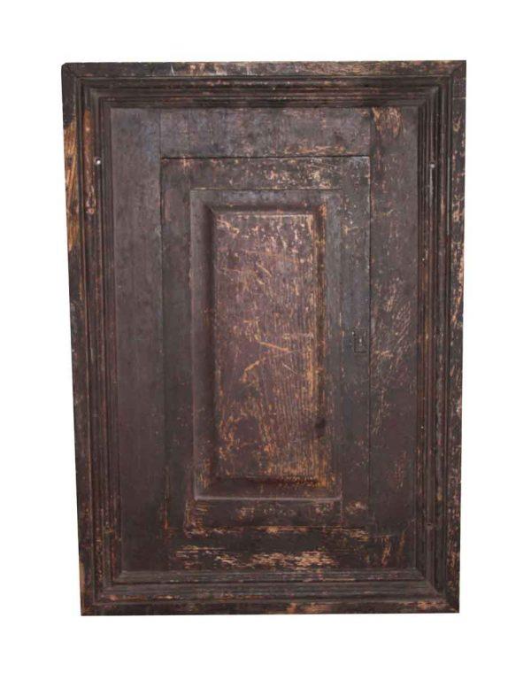 Cabinet Doors - Antique Wood Framed Cabinet Door 33.75 x 24