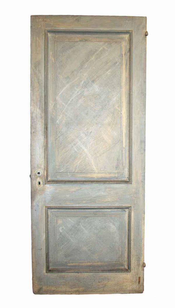 Closet Doors - Antique 2 Pane Cedar Closet Door 83.25 x 33.75