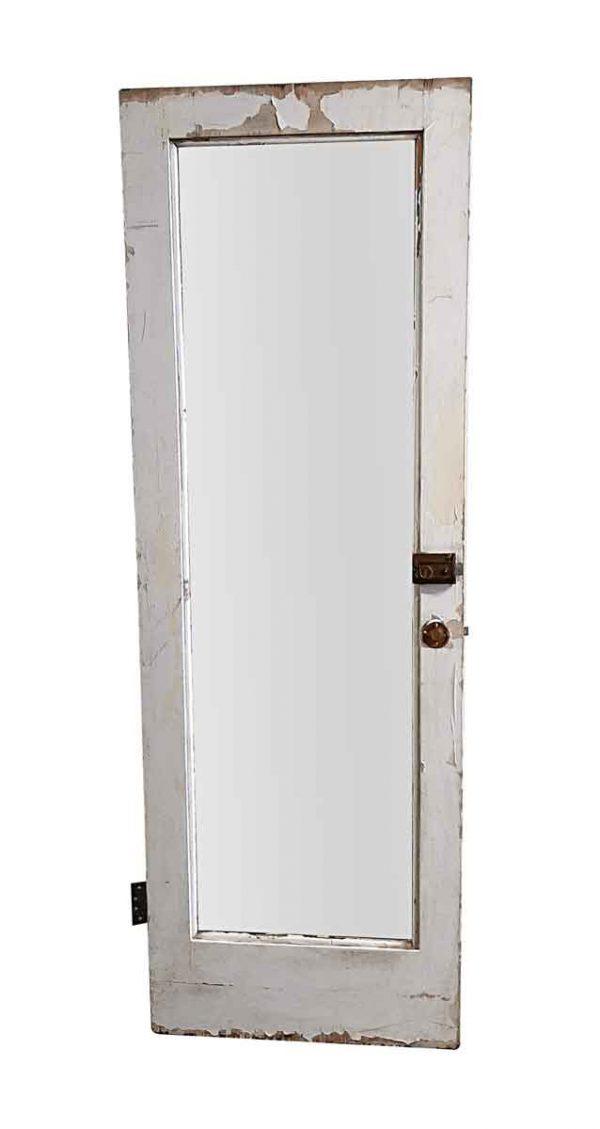 Closet Doors - Antique Mirror Pane Closet Door 81.25 x 27.875