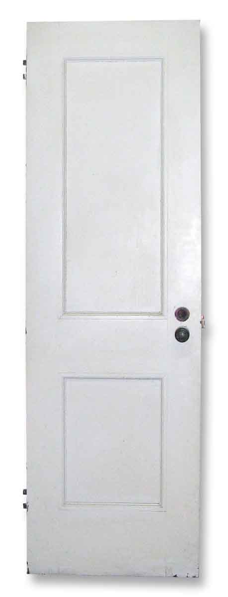 Closet Doors - Vintage 2 Pane White Wood Closet Door Sizes Vary