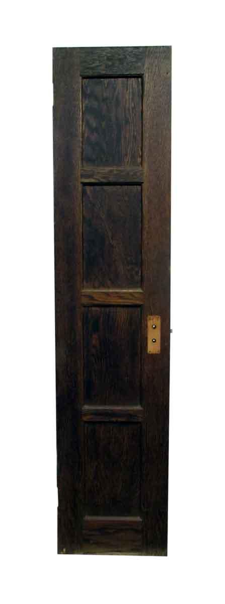 Closet Doors - Vintage 4 Pane Wood Closet Door 79.5 x 18
