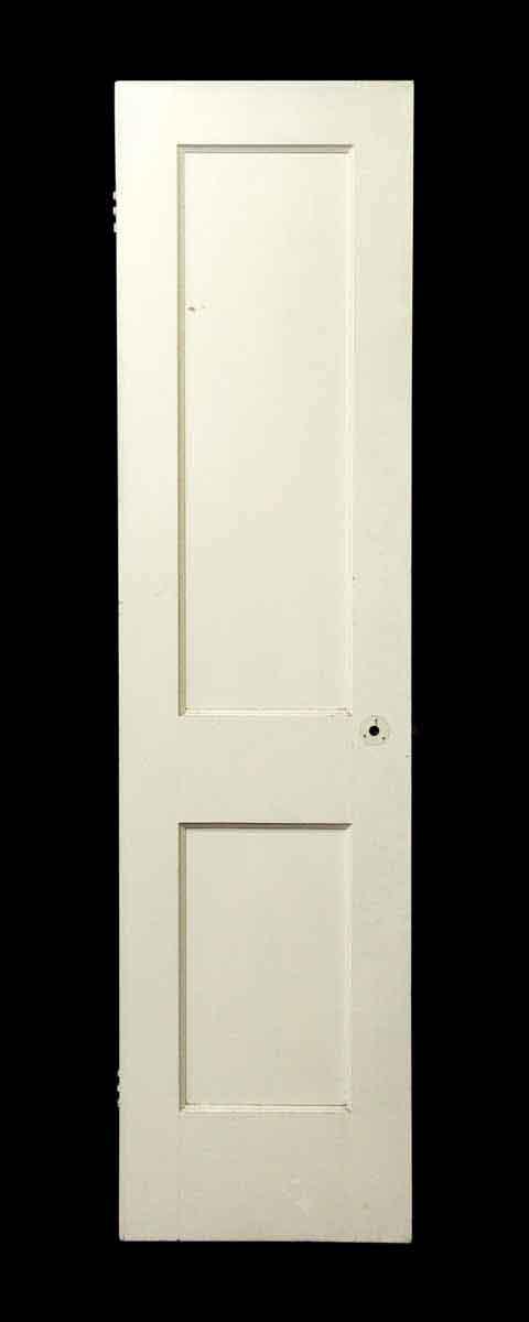 Closet Doors - Vintage White 2 Pane Closet Door 78 x 19.5