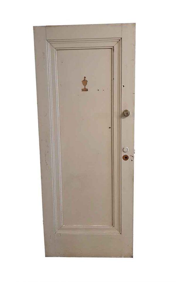 Commercial Doors - Antique 1 Pane Wood Apartment Door 79.25 x 31.875