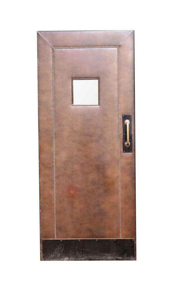 Commercial Doors - Vintage 1 Lite Swinging Commercial Door 83.75 x 35.75