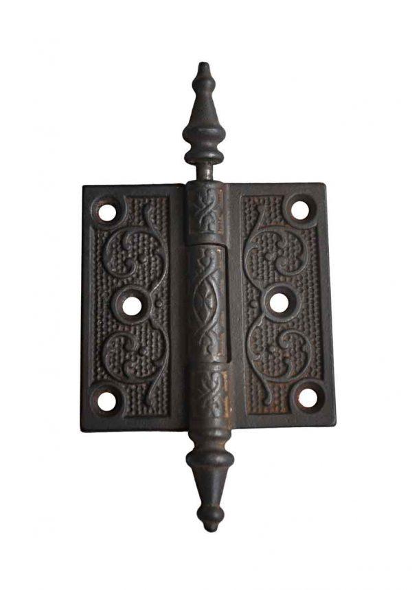 Door Hinges - Victorian 3 x 3 Cast Iron Butt Door Hinge