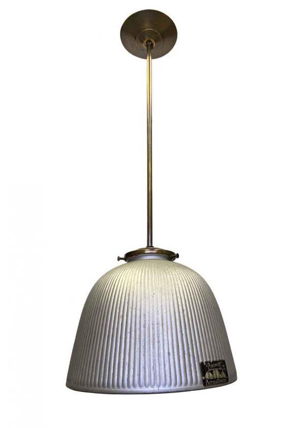 Down Lights - Industrial Mercury Glass 9.5 in. Pendant Light