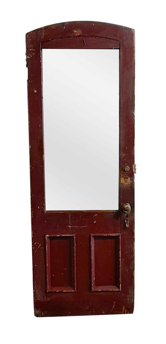 Entry Doors - Antique 1 Lite 2 Pane Entry Door 89 x 31.5