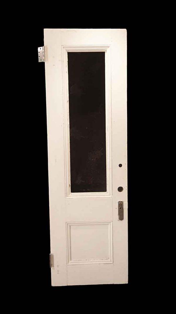 Entry Doors - Antique 1 Lite Wood Entry Door 84.75 x 26