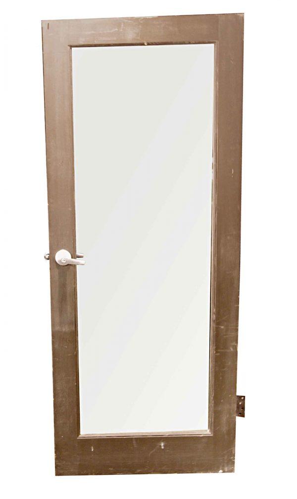 Entry Doors - Vintage Single Lite Wood Entry Door 78.75 x 32