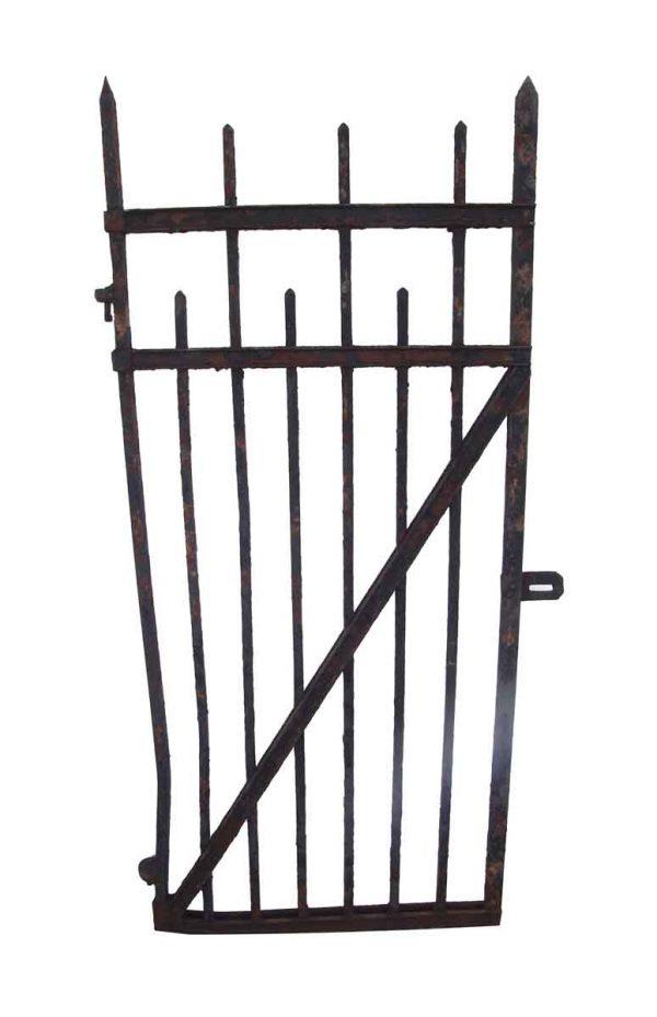 Gates - 1900s 6 ft x 3 ft Cast Iron Walkway Gate