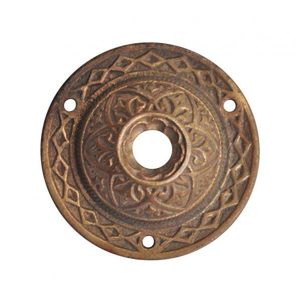 Knockers & Door Bells - Antique Aesthetic Brass Doorbell Cover