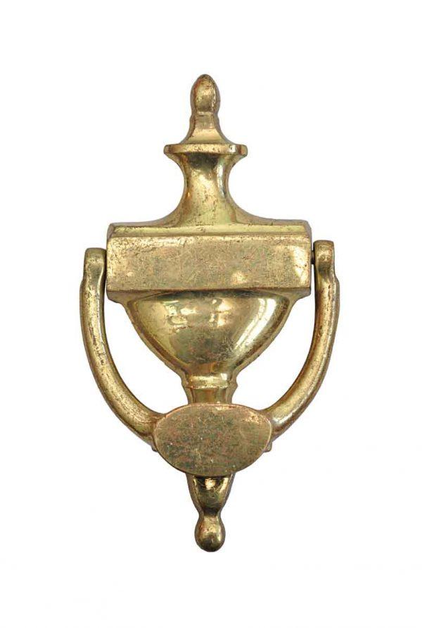 Knockers & Door Bells - Antique Solid Brass Traditional Door Knocker
