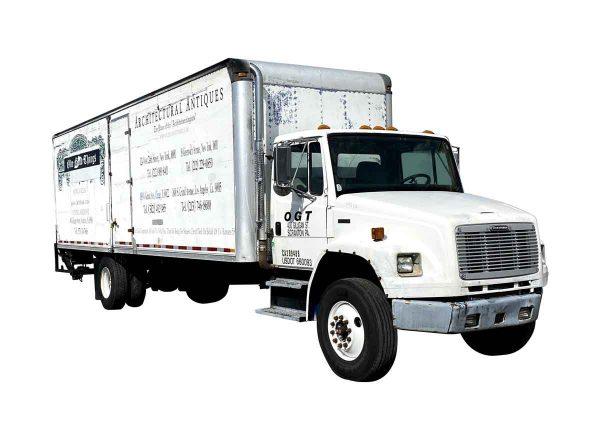 Machinery - 1999 Freightliner FL109 CDL Box Truck