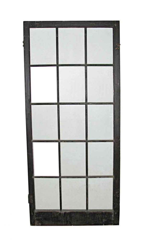 Reclaimed Windows - Large 15 Pane Window 79.5 x 35.5
