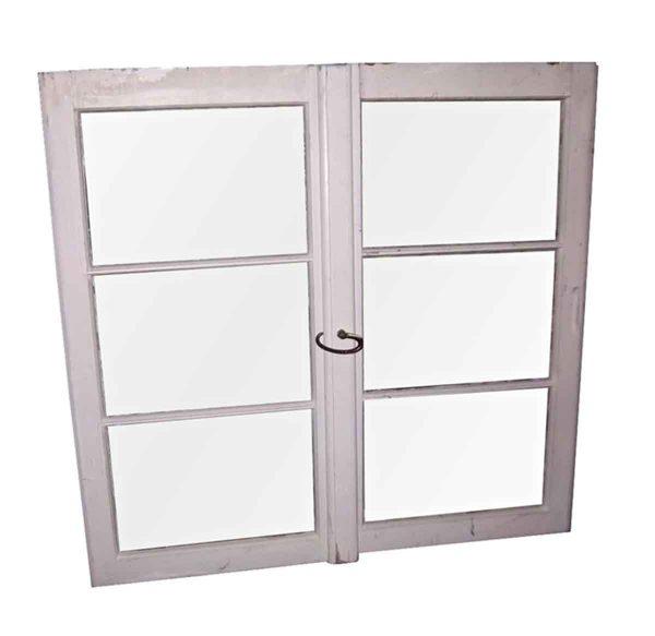 Reclaimed Windows - Triple Pane Sliding Glass Window 39 x 43.75