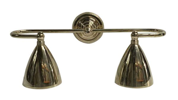 Sconces & Wall Lighting - Traditional Double Light Polished Brass Wall Sconce