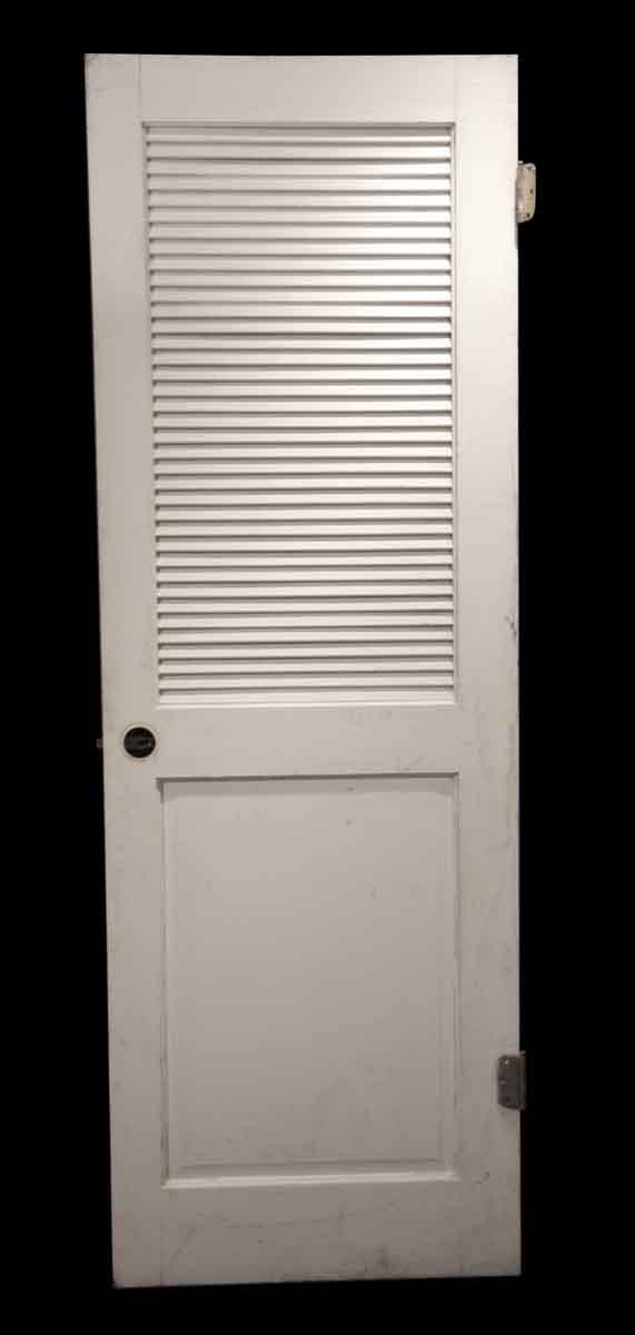 Specialty Doors - Vintage 1 Pane Louver Closet Door 80 x 27.5