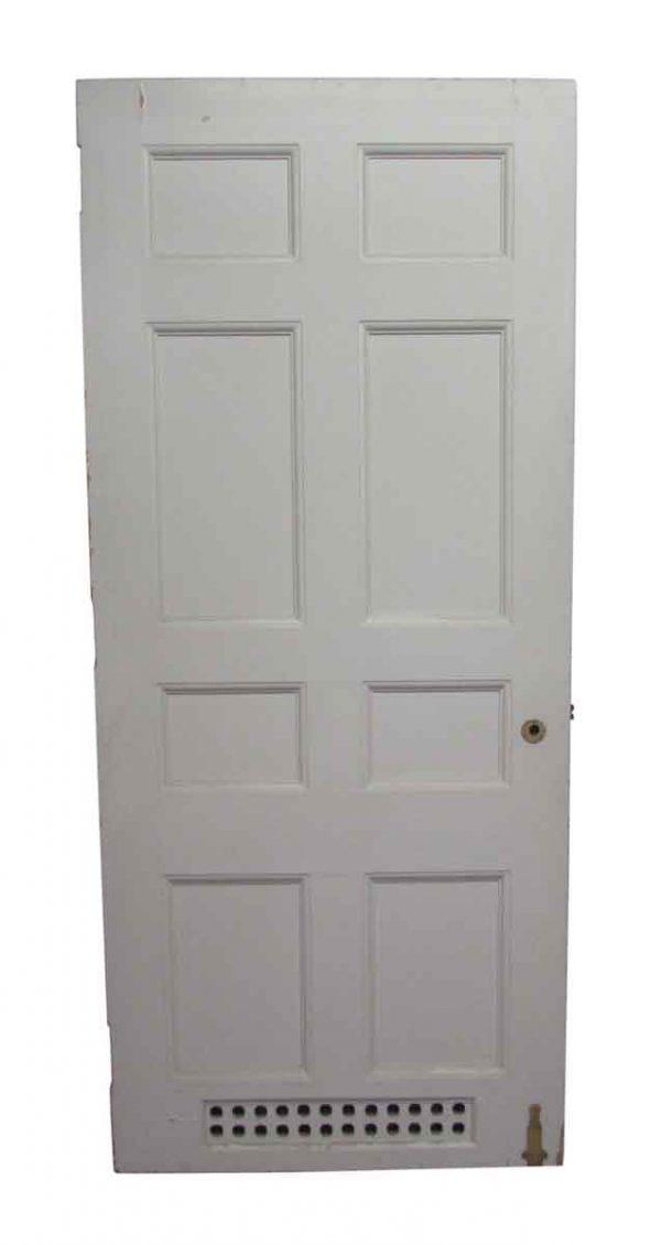 Specialty Doors - Vintage 8 Pane Wood Vented Door 89.25 x 38.75