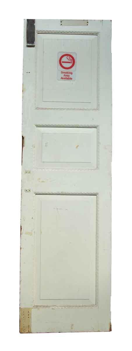 Standard Doors - Antique 3 Pane Swinging Commercial Door 95.25 x 27.5