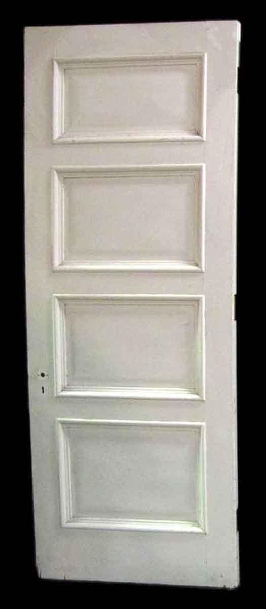 Standard Doors - Antique 4 Pane Cypress Passage Door 89.625 x 27.75