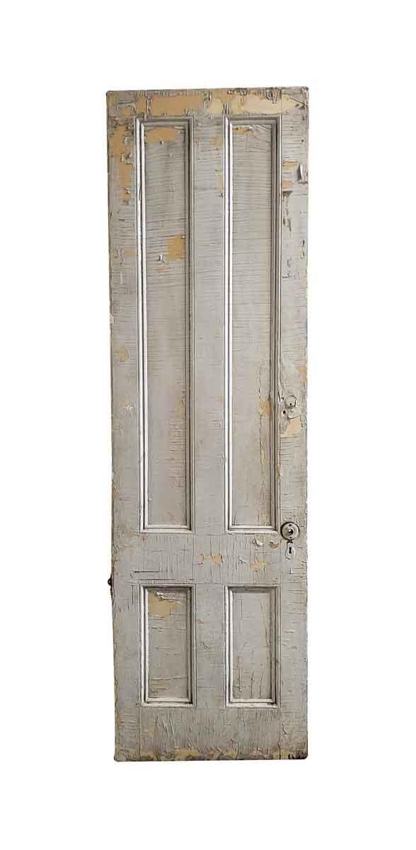 Standard Doors - Antique 4 Pane Wood Door 95 x 28