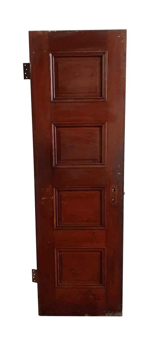Standard Doors - Antique 4 Pane Wood Passage Door 76.5 x 23.75