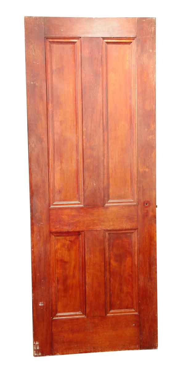 Standard Doors - Antique 4 Pane Wood Passage Door 83.125 x 31.75