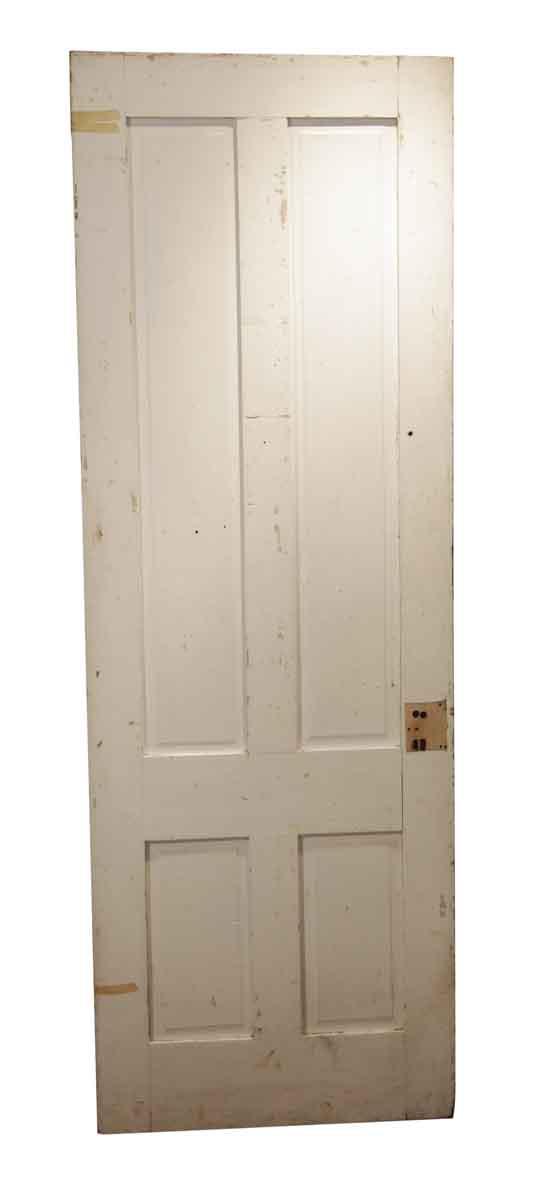 Standard Doors - Antique 4 Pane Wood Passage Door 86.875 x 30