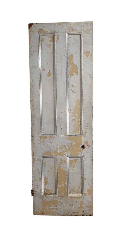 Standard Doors - Antique 4 Pane Wood Passage Door 93.75 x 30