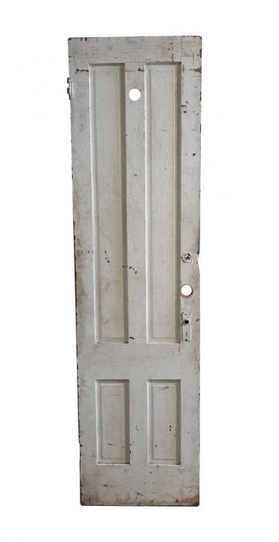 Standard Doors - Antique 4 Pane Wood Privacy Door 87.5 x 29.375