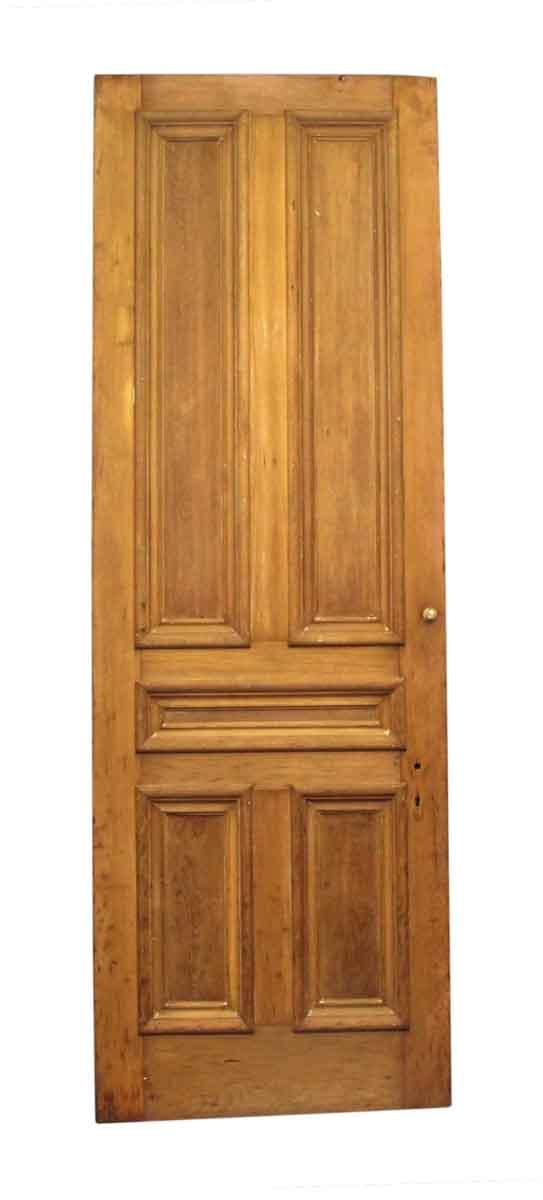 Standard Doors - Antique 5 Pane Unfinished Wood Privacy Door 107 x 36