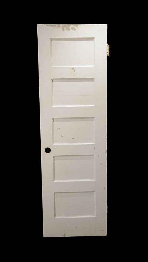Standard Doors - Antique 5 Pane White Passage Door 76.25 x 23.875