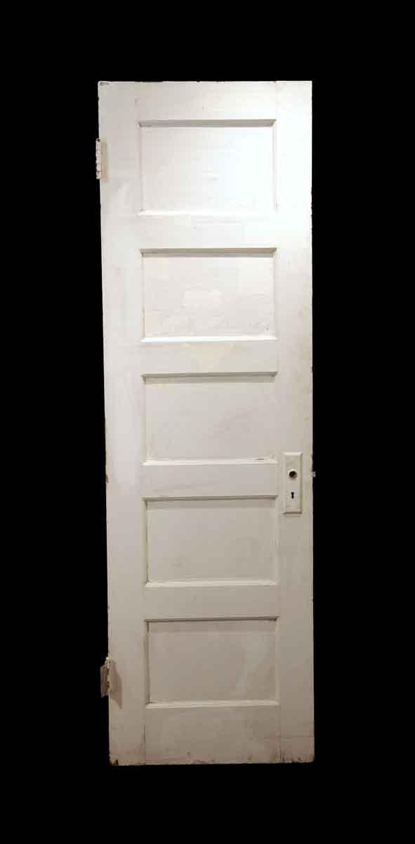 Standard Doors - Antique 5 Pane White Wood Passage Door 78 x 24