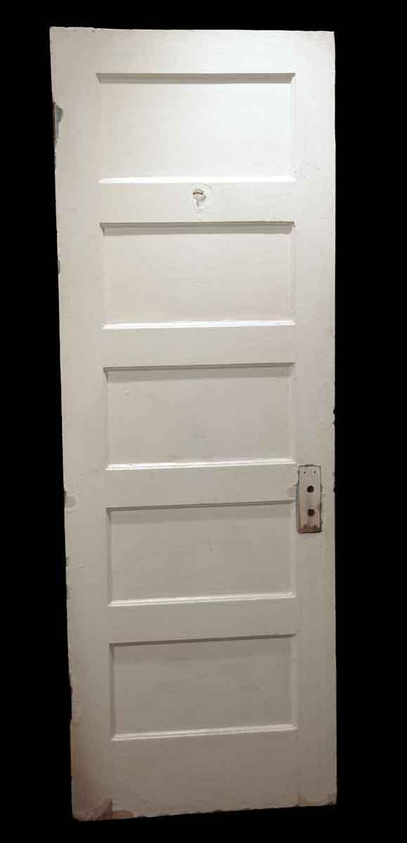 Standard Doors - Antique 5 Pane Wood Passage Door 79.375 x 27.75