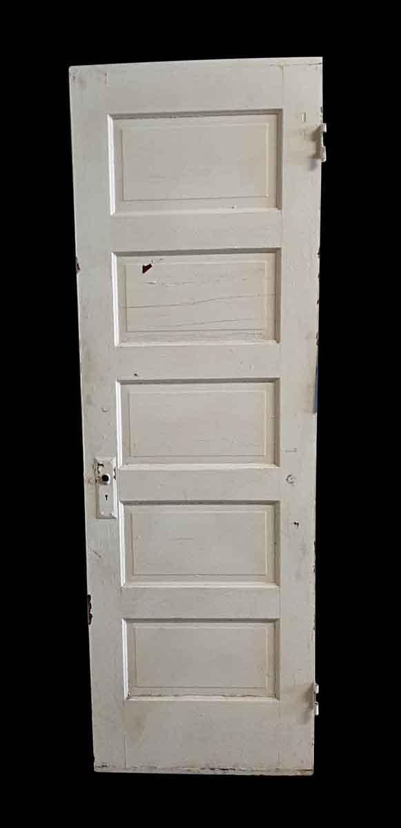 Standard Doors - Antique 5 Pane Wood Passage Door 79.5 x 25.875