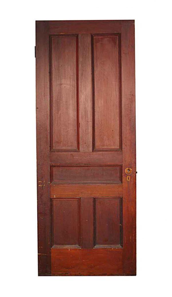 Standard Doors - Antique 5 Pane Wood Passage Door 79.75 x 29.75