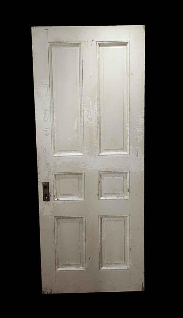 Standard Doors - Antique 6 Pane Oak Passage Door 82.75 x 33.375