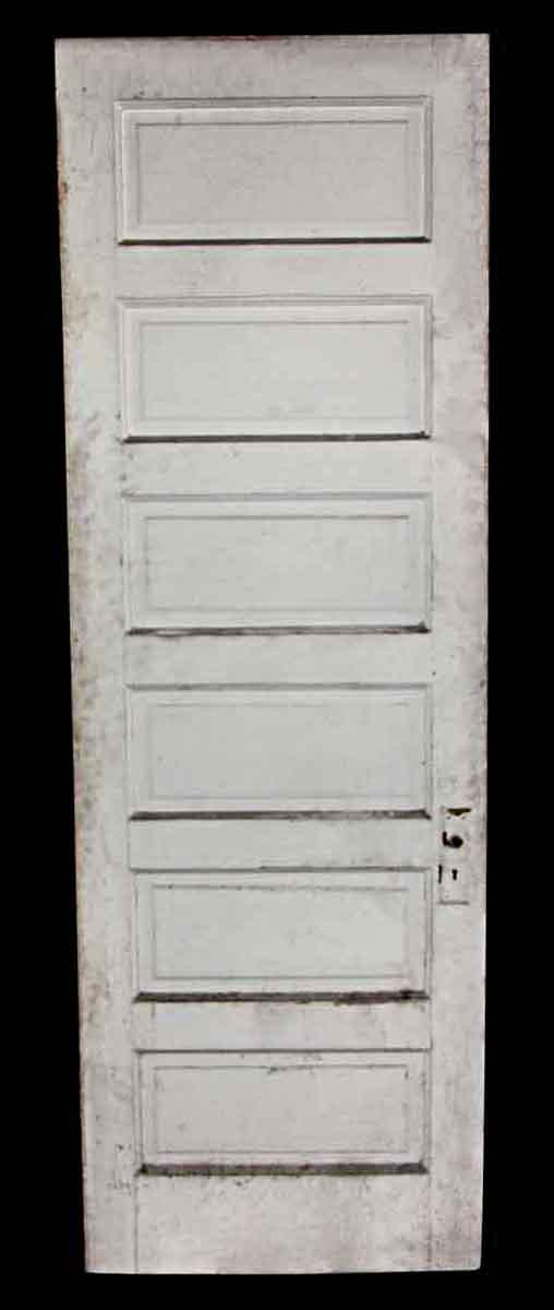 Standard Doors - Antique 6 Pane White Wood Passage Door 89 x 29.875