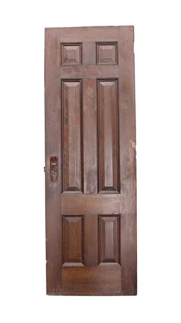 Standard Doors - Antique 6 Pane Wood Passage Door 83.5 x 28